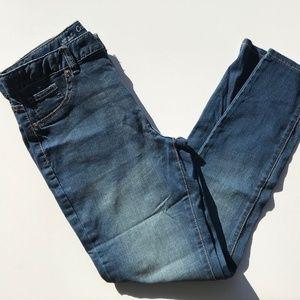 Girl's skinny blue jeans, size 14PLUS & 16PLUS
